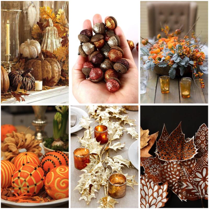 Ideas decoración de otoño