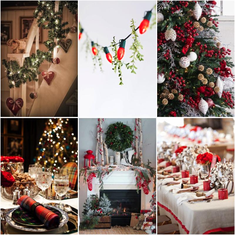 estilo navideño clásico