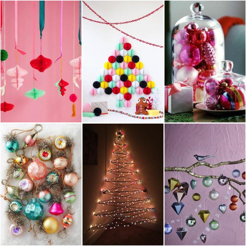 decoración de navidad colorida