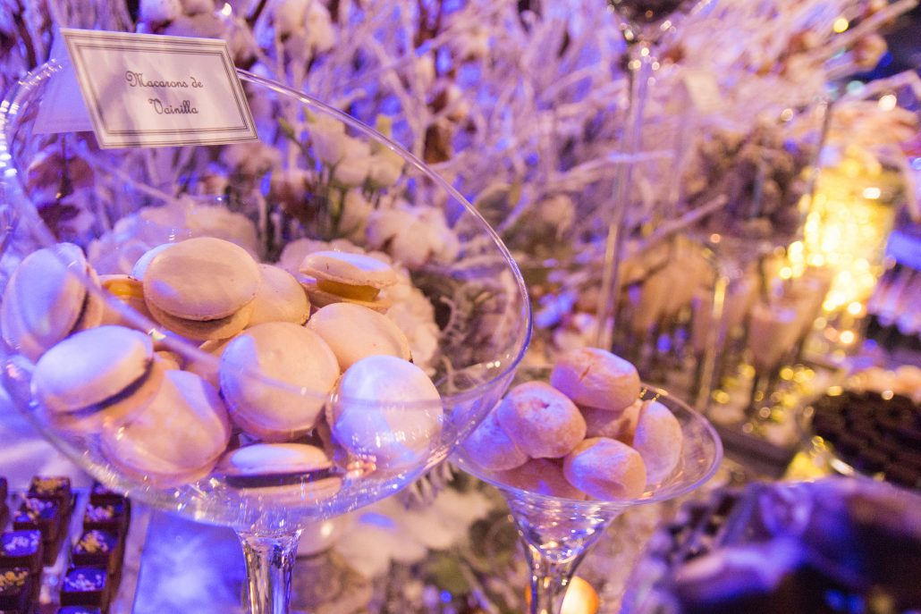 mesa dulce para boda de invierno